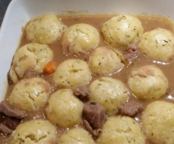 Lamb Stew with Rosemary Dumplings