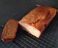 Banana bread inspired by I Quit Sugar