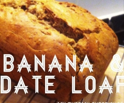 Quick & Easy Banana Date Loaf