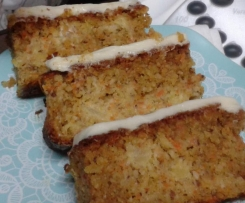 Carrot Cake with Almonds & Hazel Nuts