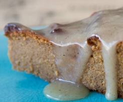 Super Healthy Caramel Cake