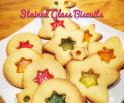Stained Glass Biscuits or Cookies
