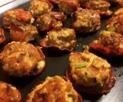 chicken chirizo meatballls lchf