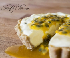 Individual Passionfruit Cheesecakes