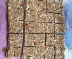 Nut and Muesli Slice
