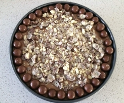 No Bake Toblerone and Malteser Cheesecake