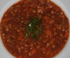 Greek Lentil Soup - Faki