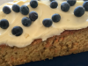 All in one apple, carrot and blueberry cake