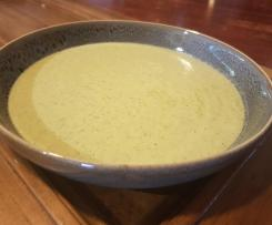 Cheesy Broccoli Soup - LCHF