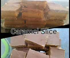 Caramel Slice (variation)