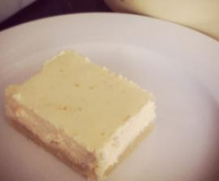 Lemon Cheesecake Slice. Gluten, sugar, grain free