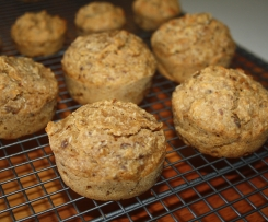 Kids Apple and Date Muffins