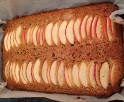 Apple & Ginger Cake Slice