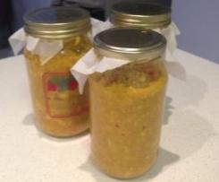 Piccalilli (mustard pickle)