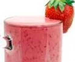 Banana and Strawberry Shake