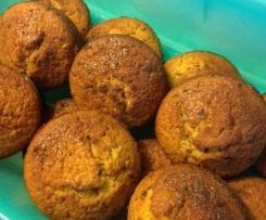 Orange, Carrot & Date Muffins