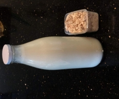Vanilla Almond Milk (and almond meal)