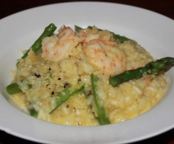 Prawn and Asparagus Risotto