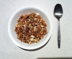Healthy Toasted Muesli