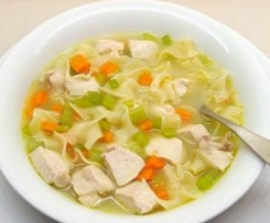 Chicken, Vegetable & Noodle Soup