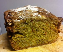 Carrot & Walnut Sourdough bread