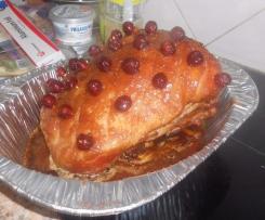 Ali's Glazed Christmas Ham