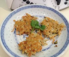 Chicken Noodle Cakes/Fritters