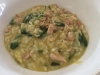 Chicken, Bacon, Zucchini & Spinach Risotto for 2
