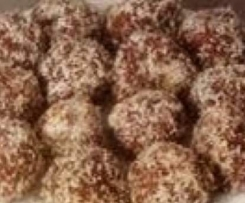 Healthy Choc Mint Bliss Balls / Slice (Nut Free, Refined Sugar Free, Gluten Free, Grain Free, Dairy Free, Egg Free)