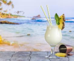 Pineapple and Coconut Mocktail