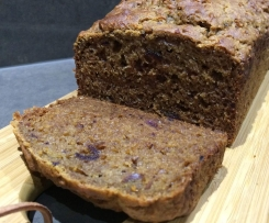 Apple Cinnamon & Date Loaf - GF