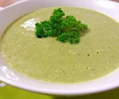 Broccoli, Cauli and Zucchini Soup