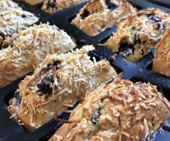Blueberry bread / loaves dairy free sugar free Healthy