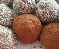 Cherry Ripe Truffles