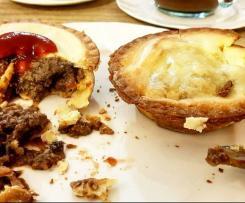 Gluten Free Chunky steak, mushroom and mince pie
