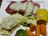 Corned Beef with Mustard & Parsley Sauce