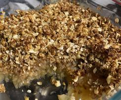 Variation Healthy Apple Crumble