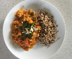 Clone of Sweet Potato Chickpea & Spinach Korma
