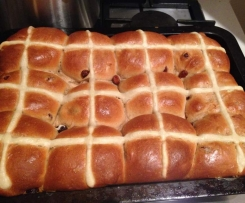 Mike's Famous Hot Cross Buns
