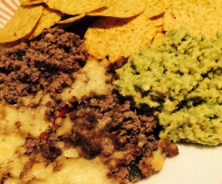 Beef Nachos with Guacamole