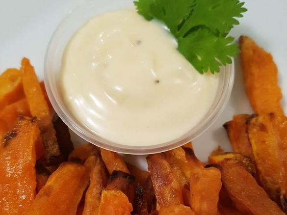 Garlic Aioli By Thermoniks A Thermomix Sup Sup Recipe In The Category Sauces Dips Spreads On Www Recipecommunity Com Au The Thermomix Sup Sup Community