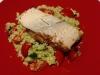 Balsamic Salmon with Quinoa Tabouli