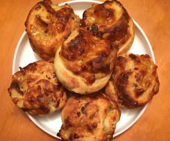 Maple Bacon Scrolls