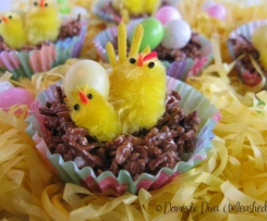 Easter Chicks on a Muesli Bar Nest - Failsafe