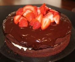 Chocolate Ganache (firm setting)