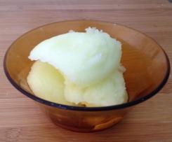 Midori and Lemon Sorbet