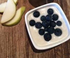 No cook coconut vanilla yoghurt