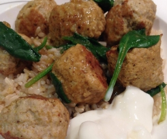 Chicken Korma Meatballs