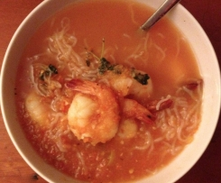 Chilli Prawn Soup (HCG-friendly)
