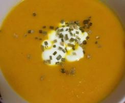 WW Easy Leek, Carrot and Pumpkin Soup